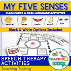 Five Senses  Printable Flashcards and Vocabulary Activities