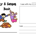 Five Senses Printable Mini-book