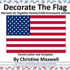 Flag Do Together Parent/Child Homework Activity