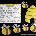 Flannel Felt Board Story Set Bees for Preschool Kindergarten