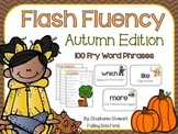 FLASH FLUENCY: Fall Fluency