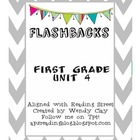Flashbacks First Grade Unit 4 Reading Street