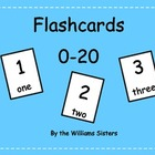 Flashcards for Numerals 0-20