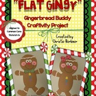&quot;Flat Gingy&quot; {Gingerbread Buddy Craftivity Project}