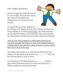 Flat Stanley Assignment