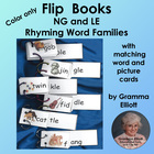"Flip Books for ""LE"" and ""NG"" Word Families"
