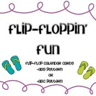 Flip Flop Calendar Cards