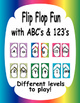 Flip Flop Fun ABC&#039;s and 123&#039;s