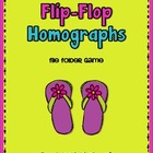 Flip-Flop Homographs-File Folder Game