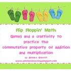 Flip Floppin' Math - Commutative Addition & Multiplication