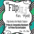 Flip for Math:  Step-By Step: Prime, Composite and Prime F