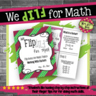 Flip for Math:  Step-By Step, Factors and Finding Greatest