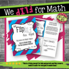 Flip for Math:  Step-by-Step, Flip Book Dividing Using Par