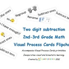 Flipchart for Visual Process Cards Regrouping/Subtraction