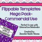 Flippable Template Mega Pack- Commercial Use (foldable)
