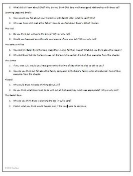 Flipped Reading Discussion Questions Higher Level Thinking