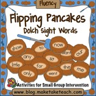 Flipping Pancakes- Dolch 220 Sight Words