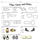 Flips, Turns and Slides Student Practice Page