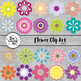 Flower Cliparts Set 3