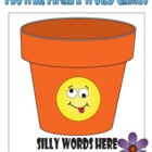 Flower FINAL E Word Games - Sorting Game & Continuous Flas