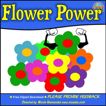 Flower Power Clip Art