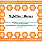 Flower Sight Word Game