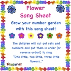 Flower Song Sheet