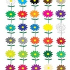 Flowers Clip Art Collection (Spring, Summer, flowers and c