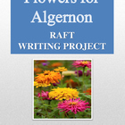 Flowers for Algernon RAFT Writing Project + Rubric + Edubl