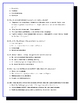 Flowers for Algernon Study Guide, Vocabulary, Test & Answer Key