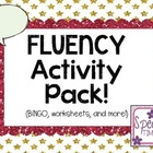 Fluency Activity Pack!