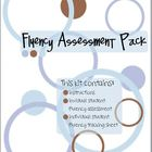 Fluency Assessment Pack