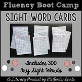 Fluency Boot Camp {Sight Word Pack}