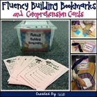 Fluency Building Bookmarks & Comprehension Cards