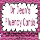 Fluency Cards