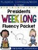 Fluency, Comprehension, and Vocabulary - Presidents