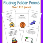 Fluency Folder Poems