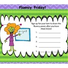 Fluency Friday Poster