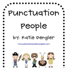 Fluency Fun- Punctuation People