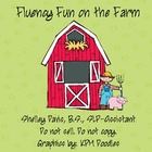 Fluency Fun on the Farm