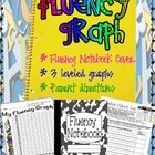 Fluency Notebook Log Sheet and Graph