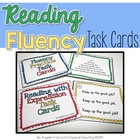 Fluency Practice Task Cards - Repeated Reading and Reading