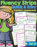 Fluency Strips Set 1 - Quick and Easy Practice and Assessment