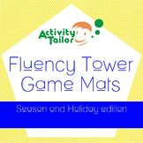 Fluency Tower Game Mats Holiday and Seasons edition