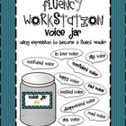 Fluency Workstation and Centers Voice Jar