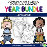 Fluency for the Year {180 Fluency Passages and Activities
