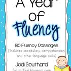 Fluency for the Year {180 Fluency Passages}