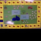 Fluency phrase practice with farm themed game
