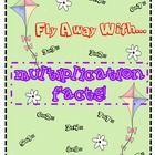 Fly Away With... Multiplication Facts Coloring Activity