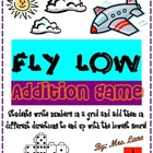 Fly Low Addition Game! (Great Center or Workstation!)